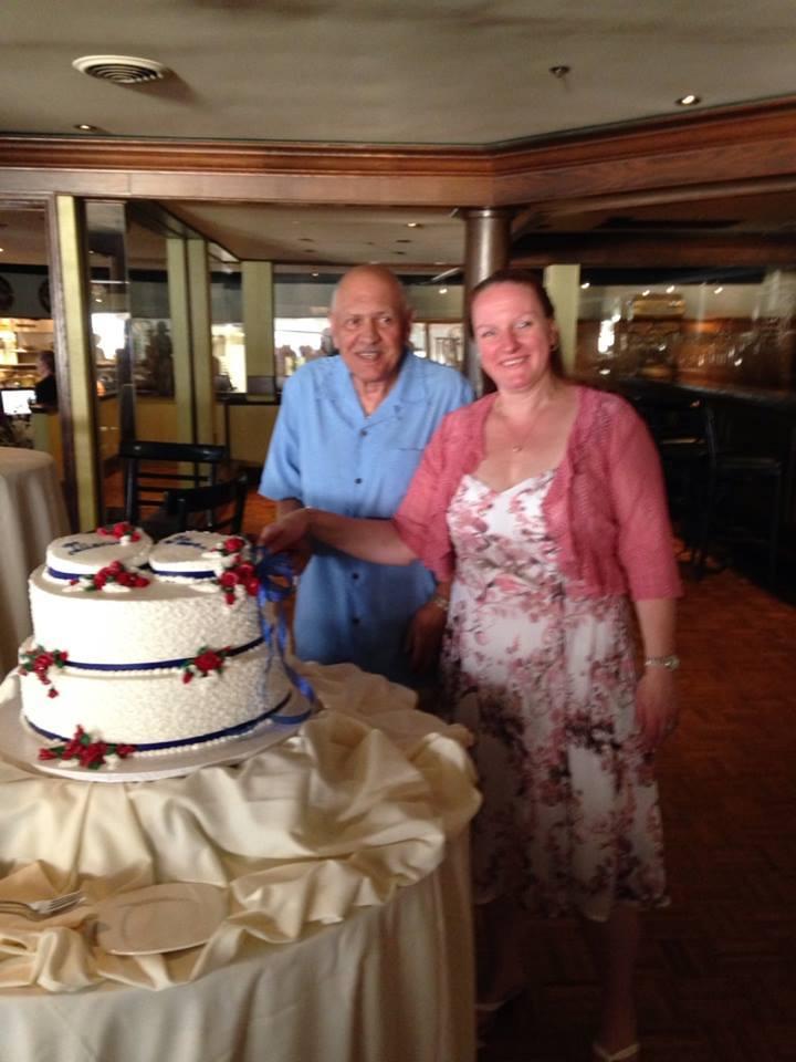 Congratulations Steve & Diane